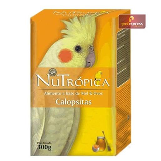 Alimento Nutrópica Calopsita a Base de Mel e Ovos 300g