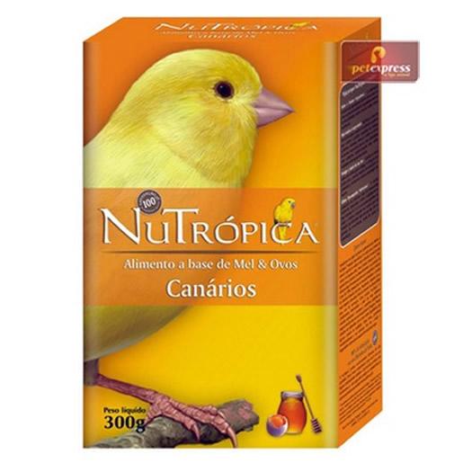 Farinhada Nutrópica Canário a Base de Mel e Ovos 300g