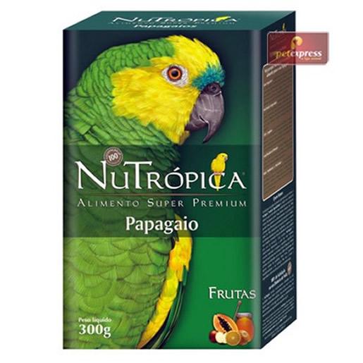 Ração Nutrópica para Papagaios com Frutas 300g