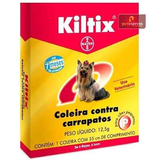 Coleira Anti Carrapatos Kiltix P