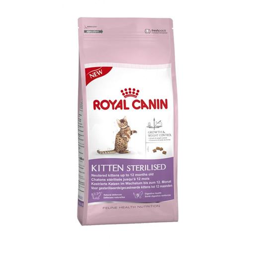 Ração Royal Canin Kitten Sterilised Gatos Filhotes 400g