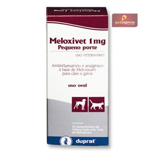 Meloxivet 1mg com 10 Comprimidos