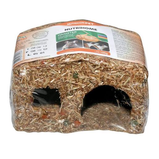 Casinha Comestível Para Hamster NutriconPet 100g