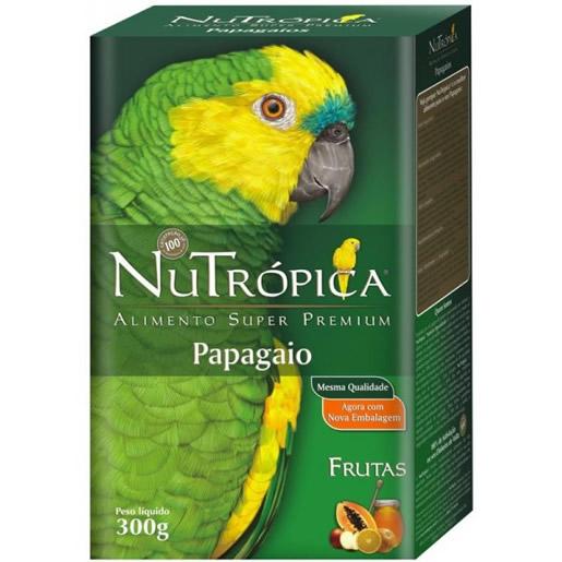 Alimento Ração Nutropica Papagaio 600g