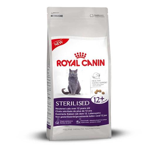 Ração Royal Canin Sterilised 12+ Gatos Castrados 400g