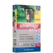 Imagem - Advantage Max 3 GG Cães +25kg Embalagem Econômica c/ 3 unidades
