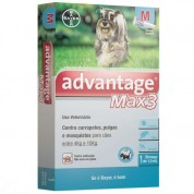 Advantage Max 3 M Cães de 4kg a 10kg - 1ml