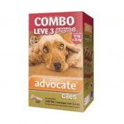Advocate Combo Leve 3 Pague 2 Para Cães Entre 10kg e 25kg