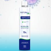 Álcool Gel Naturall Mix 500g