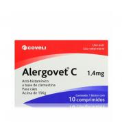 Alergovet C 1,4mg - 10 comprimidos