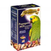 Alimento Premium Papagaio Mix Castanha, Frutas e Cereais Nutrópica 500g