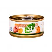 Alimento Úmido ND Feline Atum e Salmão Gatos Adultos 70g