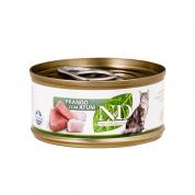 Alimento Úmido ND Feline Frango e Atum Gatos Adultos 70g