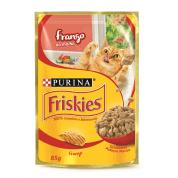 Imagem - Alimento Úmido Sachê Friskies Frango Gatos 85g
