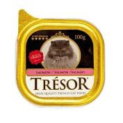 Alimento Úmido para Gatos Salmão Tresor 100g