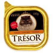 Alimento Úmido Para Gatos Trésor Frango 100g
