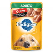 Alimento Úmido Pedigree Sachê Carne ao Molho Cachorros Adultos 100g