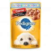 Imagem - Alimento Úmido Pedigree Sachê Carne ao Molho Cachorros Filhotes 100g