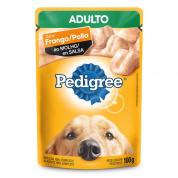 Imagem - Alimento Úmido Pedigree Sachê Frango ao Molho Cachorros Adultos 100g