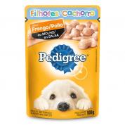 Imagem - Alimento Úmido Pedigree Sachê Frango ao Molho Cachorros Filhotes 100g