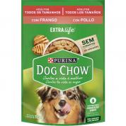 Alimento Úmido Sachê Dog Chow Extralife Cachorros Adultos Frango 100g