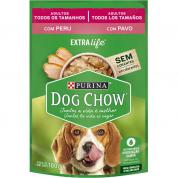 Alimento Úmido Sachê Dog Chow Extralife Cachorros Adultos Peru 100g