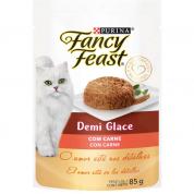 Alimento Úmido Sachê Fancy Feast Demi Glace Carne 85g