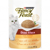 Alimento Úmido Sachê Fancy Feast Demi Glace Frango 85g
