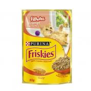 Alimento Úmido Sachê Friskies Frango Gatos Filhotes 85g