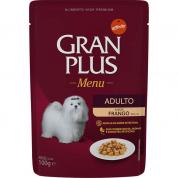 Alimento Úmido Sachê Gran Plus Cachorros Adultos Frango 100g