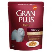 Alimento Úmido Sachê Gran Plus Cachorros Adultos Frango 85g