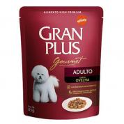 Alimento Úmido Sachê Gran Plus Cachorros Adultos Ovelha 85g