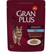 Alimento Úmido Sachê Gran Plus Gatos Adultos Atum 85g