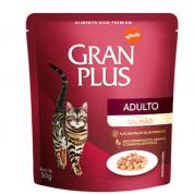 Imagem - Alimento Úmido Sachê Gran Plus Gatos Adultos Salmão 50g