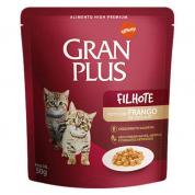 Imagem - Alimento Úmido Sachê Gran Plus Gatos Filhotes Frango 50g