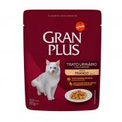 Alimento Úmido Sachê Gran Plus Gatos Trato Urinário Frango 85g