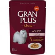 Alimento Úmido Sachê Gran Plus Menu Cachorros Adultos Salmão 100g