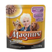 Alimento Úmido Sachê Magnus Todo Dia Cachorros Raças Pequenas 40g
