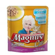 Alimento Úmido Sachê Magnus Cat Todo Dia Gatos Adultos Sabores do Mar 40g