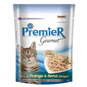 Alimento Úmido Sachê Premier Gourmet Peito de Frango e Arroz Integral Gatos Adultos 70g