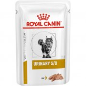 Alimento Úmido Sachê Royal Canin Urinary S/O Wet Gatos 85g