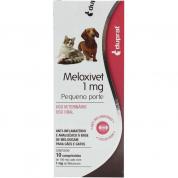 Anti-Inflamatório Meloxivet 1mg com 10 Comprimidos