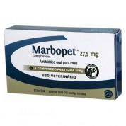 Antibiótico Marbopet Para Cães 27,5mg 10 Comprimidos