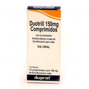 Antimicrobiano Duotrill 150mg 10 comprimidos