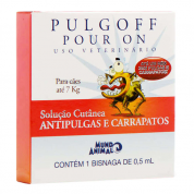 Antipulgas e Carrapatos Pulgoff Cachorros Até 7kg