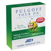 Antipulgas e Carrapatos Pulgoff Cachorros de 7kg a 15kg