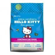 Areia Sanitária da Hello Kitty Clássica 2kg