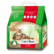 Areia Sanitária Higiênica Para Gatos Cats Best Original 4,3kg