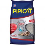 Areia Sanitária Pipicat Ultra Dry 4kg