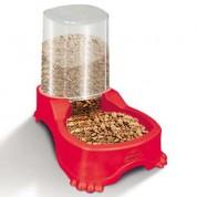 Imagem - Bebedouro e Comedouro Automático Dupla Função Vermelho